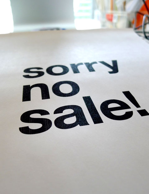 L1040167sorry no sale